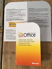 Microsoft Office Professional 2010  PKC , Multi, Vollversion mit MwSt-Rechnung