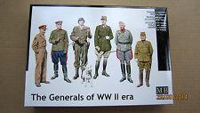 The Generals of WWII era    1/35 Master Box  # 35108