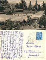 Ansichtskarte Kamenz Kamjenc Hutberg, Rosengarten, Kirche, Lessinghaus 1959