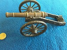 Steel vintage minature cannon .collector.display