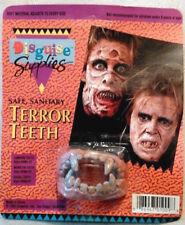 Terror Teeth Fake Fangs Vampire Zombie Horror Adjustable Rotted Buy 2, Get 1!