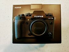 Fujifilm X-T3 26.1MP Digital Camera - Black with 6 batteries