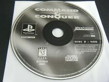 Command & Conquer (Sony PlayStation 1, 1995) - Disc 2 Only!!!