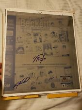 BECKETT MONTHLY 1/1 SIGNED INSCRIBED MIKE TROUT PRINTING PLATE -MLB/BECKETT HOLO