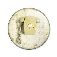 Badge TELEPHONE RETRO old phone bohème boho vintage hipster pop pins Ø25mm