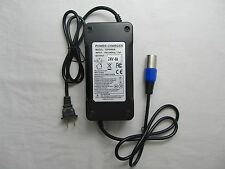 New 24 Volt 4A 96W XLR Mobility Battery Charger For Scooter Jazzy Power Chair