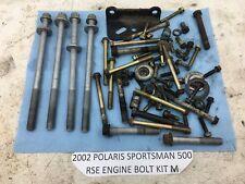 02 POLARIS SPORTSMAN 500 HO RSE ENGINE BOLTS MISCELLANEOUS NUTS PARTS STUFF M