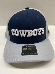 Dallas Cowboys Navy Panel Champ Drive Flex Fit Men's Hat One Size Fits Most