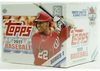 2021 Topps Series 1 Hobby JUMBO Baseball Factory Sealed Unopened Box ~ 10 Packs