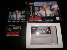 Super Nintendo, Snes - john madden 93 - 100% boxed