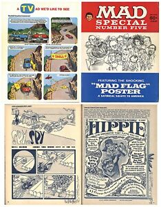MAD Magazine 1971 Classic Issue A Satirical Salute To America