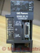 GE Fanuc IC693PWR321L Power Supply No Battery & Missing Covers - Used