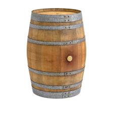 Holzfass, Weinfass, Fass, Barrique, Eichenfaß, Stehtisch, Gartentisch Rund Holz
