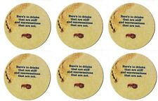 Red Lobster Lot of 7 Coasters Here's To Drinks That Are Stiff & Conversations...