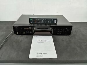SONY MDS-JE780 ATRAC3 DSP TYPE-S MINIDISC PLAYER RECORDER WITH REMOTE