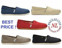 TOMS Women's Classic Canvas Slip Flats Shoes US Sizes Authentic Variety!!!