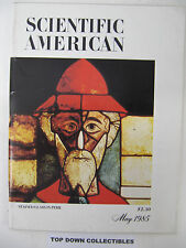 Scientific American Magazine   May  1985  Stained Glass In Peril
