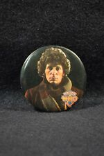 1983 BBC Doctor Who Tom Baker 4th Doctor USA Made Rare Elder Corp Button Badge