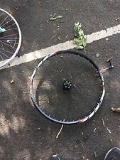 "Front Bike Wheel 26"" Black MX Disc Rim Quick Release Hybrid Mountain Cycling"