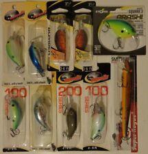 Lot of 10 New Bandit Bomber Storm Arashi Smithwick Rogue Crankbait Fishing Lures