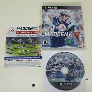 Madden NFL 17 (Sony PlayStation 3, 2016) PS3 Fast Shipping 2017