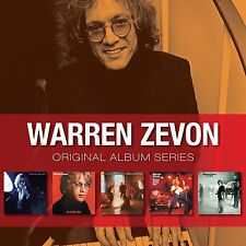 WARREN ZEVON ORIGINAL ALBUM SERIES: 5CD SET (2009)