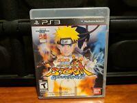 Naruto Shippuden Ultimate Ninja Storm Generations PS3 Playstation 3 Complete