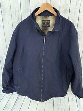 VTG Woolrich Barn Field Jacket Navy Blue Full Zip Size L / XL