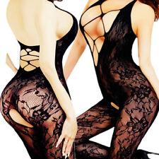 Adult Fishnet Babydoll Body Stockings Sleepwear Women's New Bodysuit Lingerie