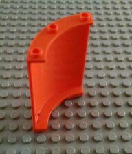 LEGO Orange 4x4x6 Quarter Panel Piece
