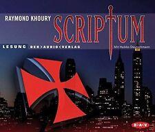 Raymond Khoury Scriptum (2006, Leser: Heikko Deutschmann) [5 CD]