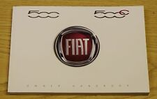 GENUINE FIAT 500 500C HANDBOOK OWNER MANUAL 2007-2018 BOOK 1.2 1.3 1.4 MULTIJET