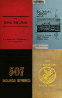 126 RARE BOOKS ON HOROLOGY, POCKET WATCH, CLOCK, SUNDIAL REPAIR & MORE-VOL.2 DVD