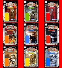 STAR WARS CUSTOM LEGO CARDBACKS 4X6 - Pick 1