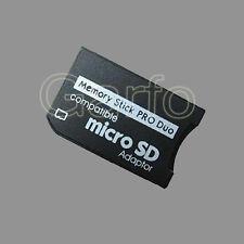 Adaptador Micro SD Micro SDHC A Memory Stick Pro Duo para PSP
