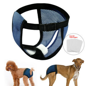 Dog Sanitary Pants Female Nappy Diaper Mesh Pet Physiological Shorts Underwear