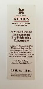 Kiehl's Powerful-Strength Line-Reducing and Eye-Brightening Concentrate 0.5oz