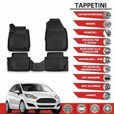 Tappeti Ford Fiesta VII DAL 2015 in forma 3D tappetini in gomma con bordo