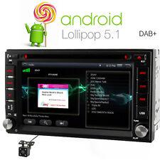 Doppel 2 Din 16G Android 5.1 Quad core Rückfahrkamera DVD GPS Autoradio Navi