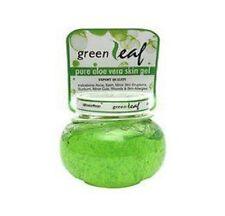 4 Pcs Green Leaf Pure Aloe Vera Skin Gel Improve Skin Texture