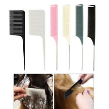 6 Pieces Sectioning Weave Highlighting Foiling Hair Comb Highlight Salon