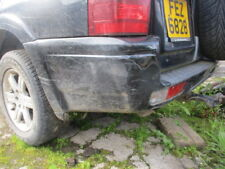 MITSUBISHI SHOGUN PAJERO 3.2 DID REAR BUMPER BLACK MK3 2003 - 2006