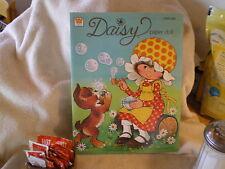"""Daisy Paper Dolls"", Whitman Book, 1978, Kirby Martin, Western Pub"