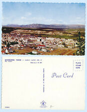 Aerial View of  Capital City Whitehorse Yukon Canada  Postcard