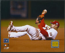 Albert Pujols World Series On Back St. Louis Cardinals 8x10 Photo With Toploader