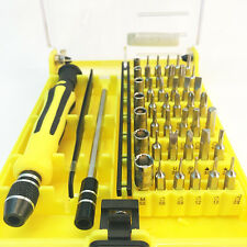 45 in 1 mini Precision Screwdriver Multi Bit Repair Tool For Phone Tablet Laptop