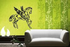 Wall Stickers Vinyl Decal Winged Horse Pegasus Fantasy Animal Wall Decor  ig045