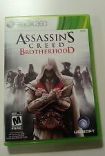 Assassin's Creed: Brotherhood  (Xbox 360, 2010) Complete, Very good condition!