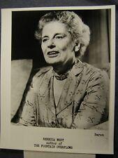 REBECCA WEST w/SNIPE Portrait 1956  PHOTO 507E