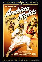 Arabian Nights (DVD, 2007, Universal Cinema Classics) SEALED FREE S/H